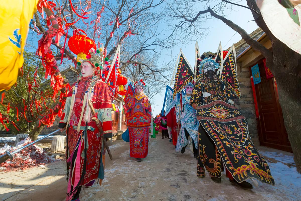 沂蒙山区仅存的活着的图腾正月初六在泉庄全景展示_图1-31