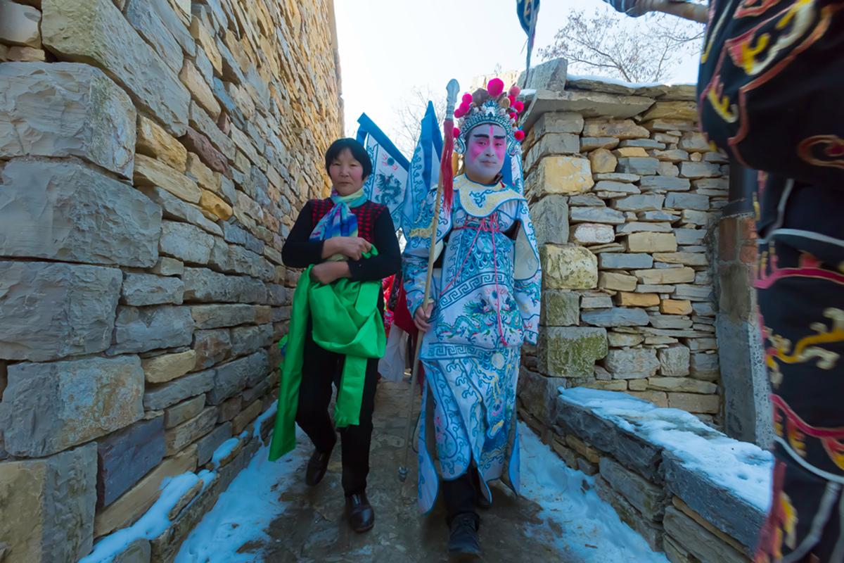 沂蒙山区仅存的活着的图腾正月初六在泉庄全景展示_图1-32