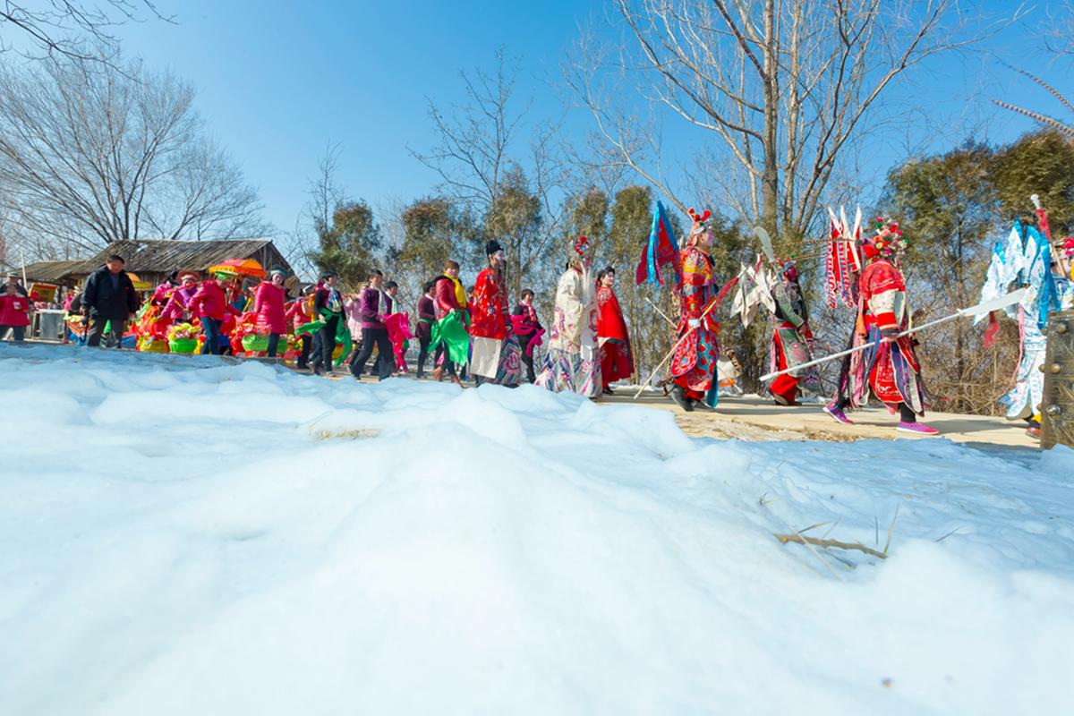 沂蒙山区仅存的活着的图腾正月初六在泉庄全景展示_图1-34