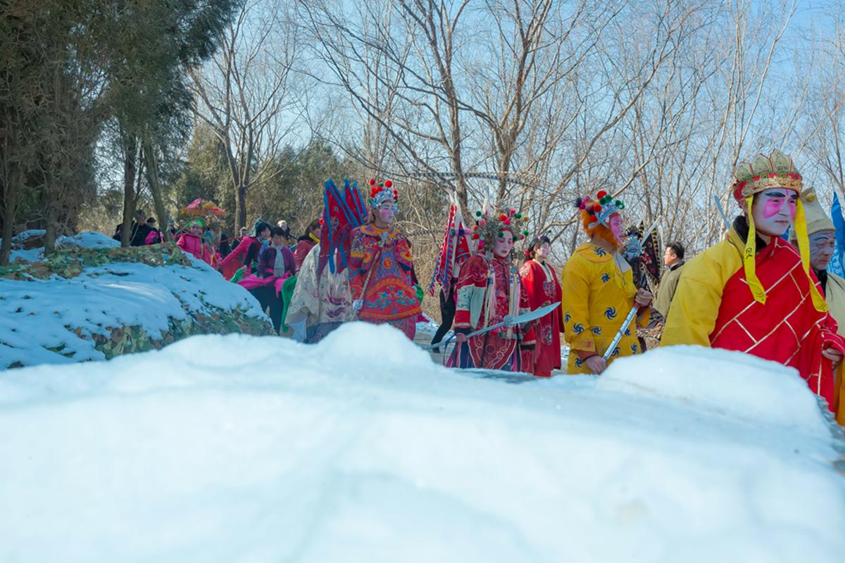沂蒙山区仅存的活着的图腾正月初六在泉庄全景展示_图1-35