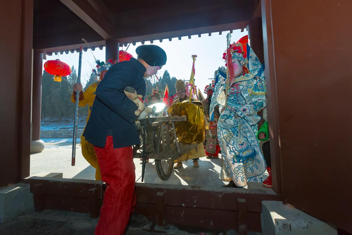 沂蒙山区仅存的活着的图腾正月初六在泉庄全景展示_图1-36