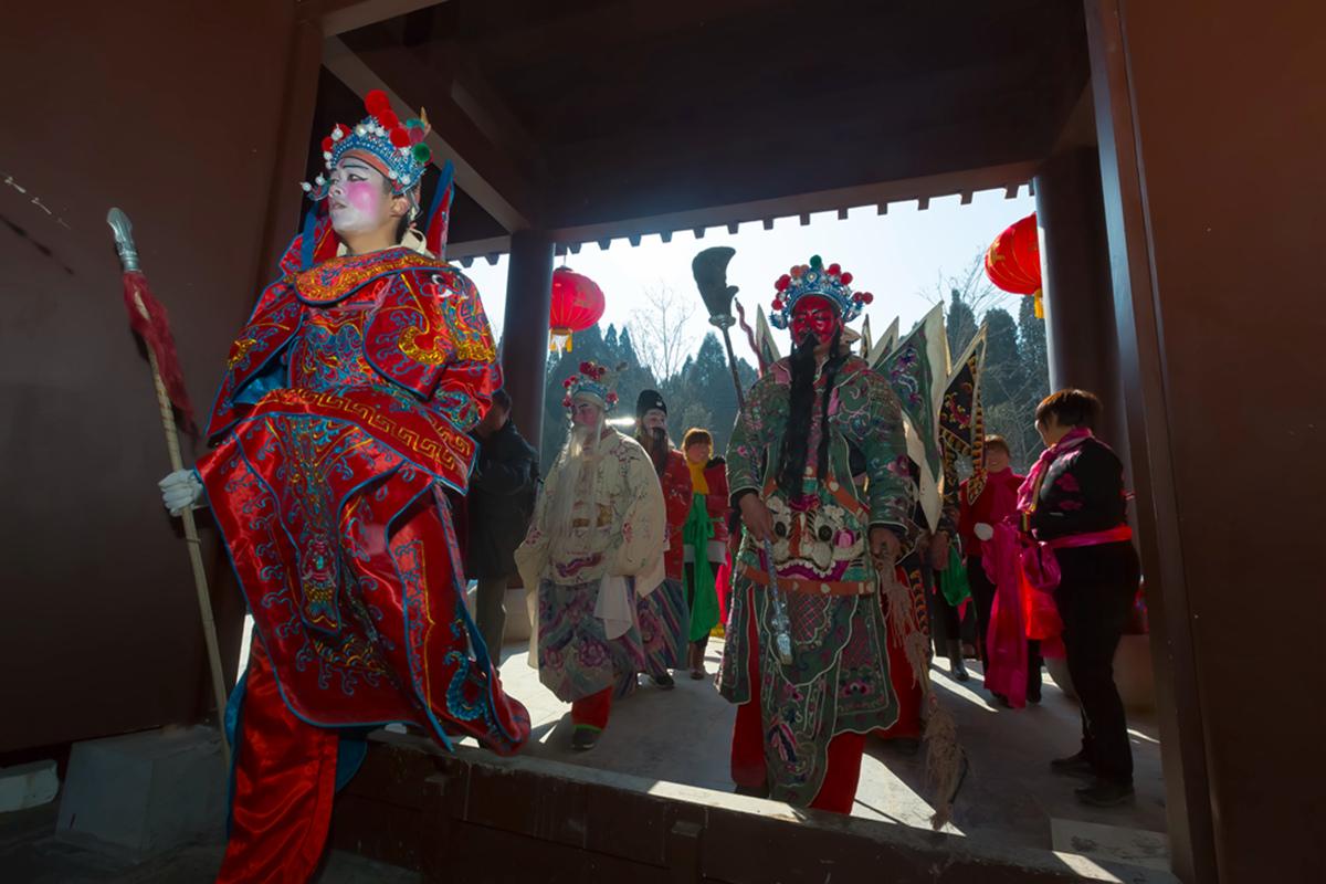 沂蒙山区仅存的活着的图腾正月初六在泉庄全景展示_图1-37