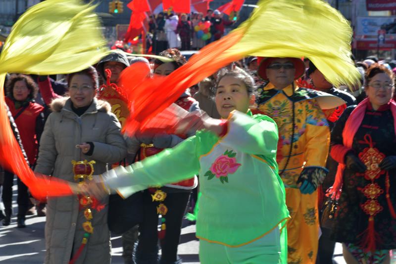 法拉盛华人庆祝新年大游行花絮_图1-11