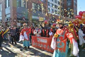 法拉盛华人庆祝新年大游行花絮