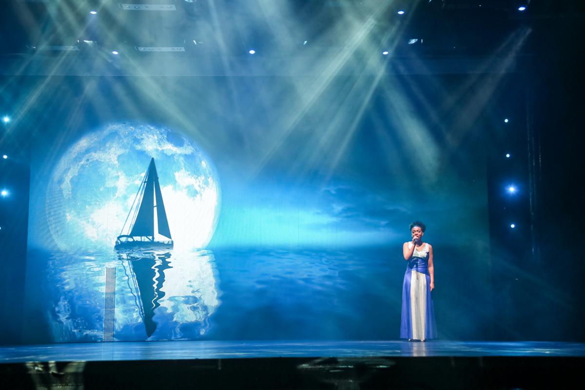 新春邮轮航海日记之二第一晚的演出水之韵_图1-19