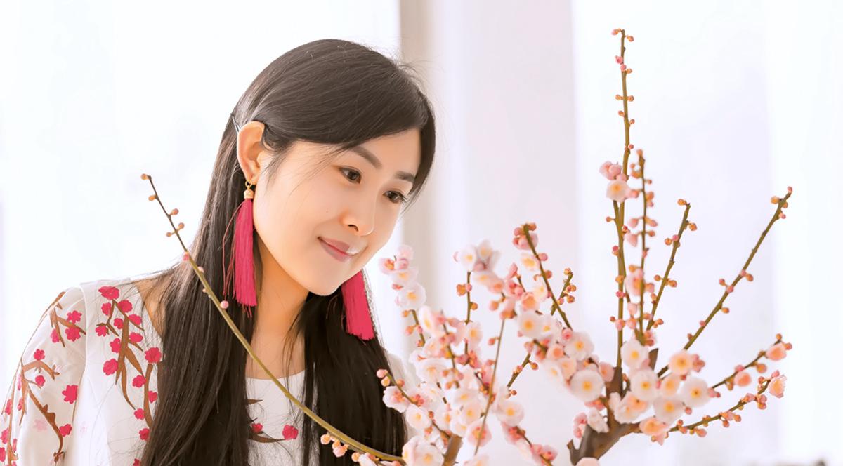 春晚弹奏古筝的沂水女孩是她呀 还和刘能搭戏今天邂逅梅园_图1-15