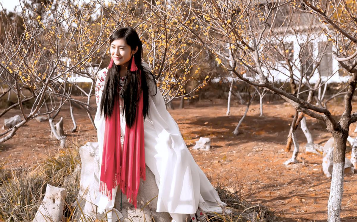 春晚弹奏古筝的沂水女孩是她呀 还和刘能搭戏今天邂逅梅园_图1-17