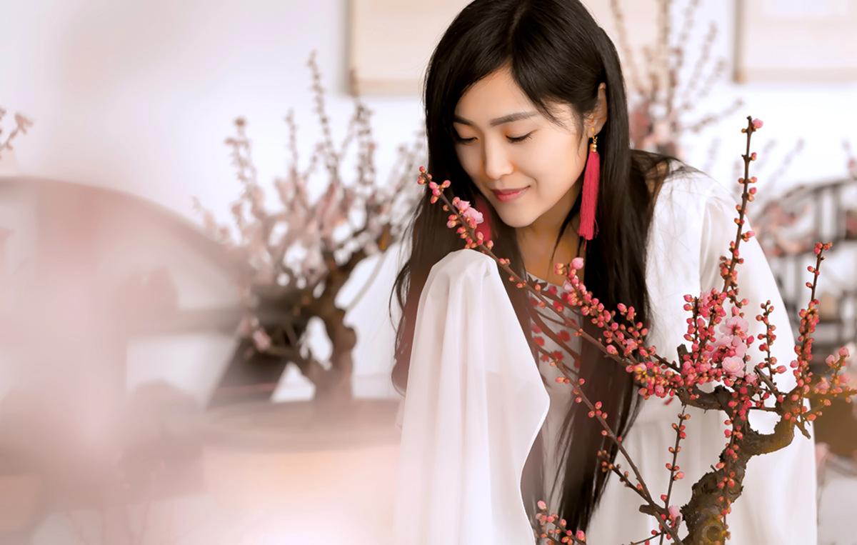 春晚弹奏古筝的沂水女孩是她呀 还和刘能搭戏今天邂逅梅园_图1-20