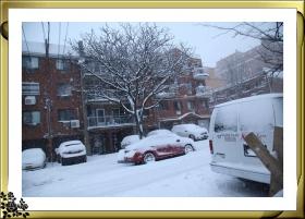 暴风雪肆虐法拉盛(2017-2-9)