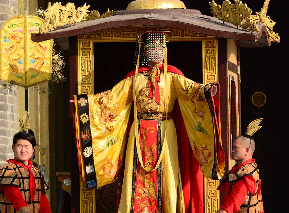 元宵节之唐朝皇帝出巡_图1-7