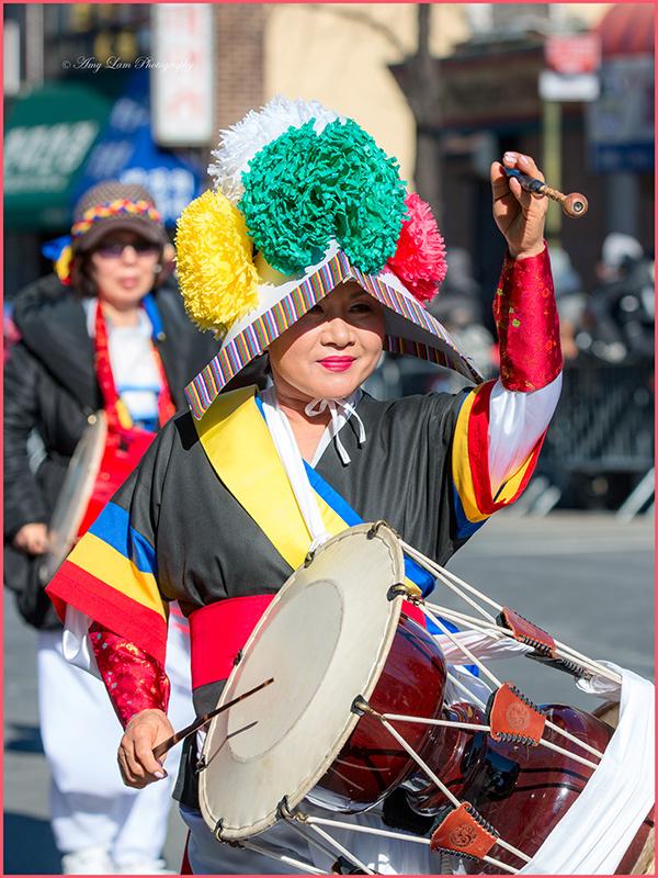 纽约市皇后区法拉盛2017年春节花車遊行_图1-60