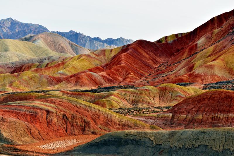 中国甘肃張掖地貌国家公园_图1-4