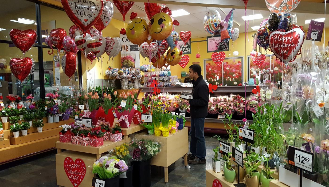 【田螺摄影】逛超市随拍情人节的玫瑰花_图1-10