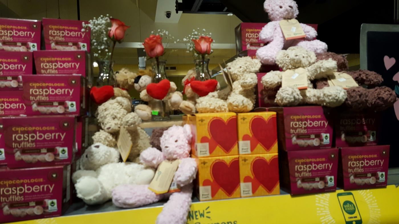 【田螺摄影】逛超市随拍情人节的玫瑰花_图1-22