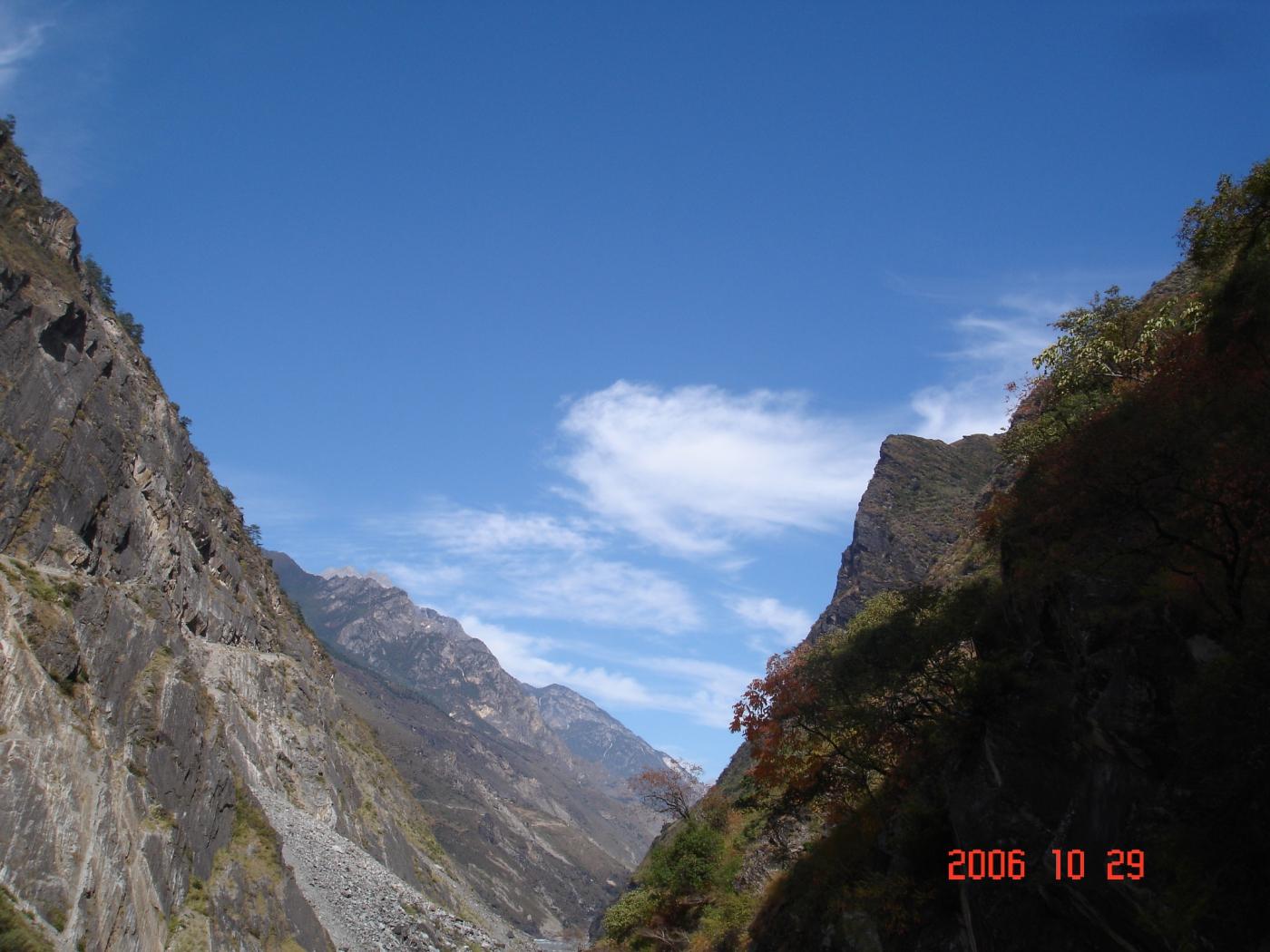 【汉良子】虎跳峡--中国最深的峡谷之一(图)_图1-4