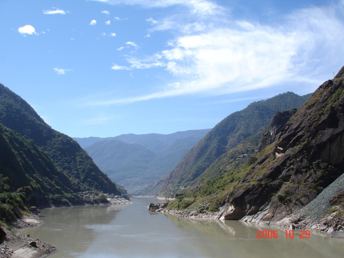 【汉良子】虎跳峡--中国最深的峡谷之一(图)_图1-8