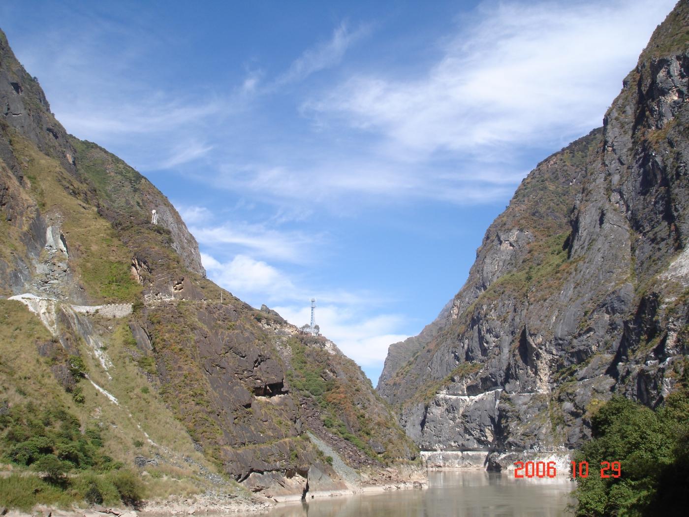 【汉良子】虎跳峡--中国最深的峡谷之一(图)_图1-10