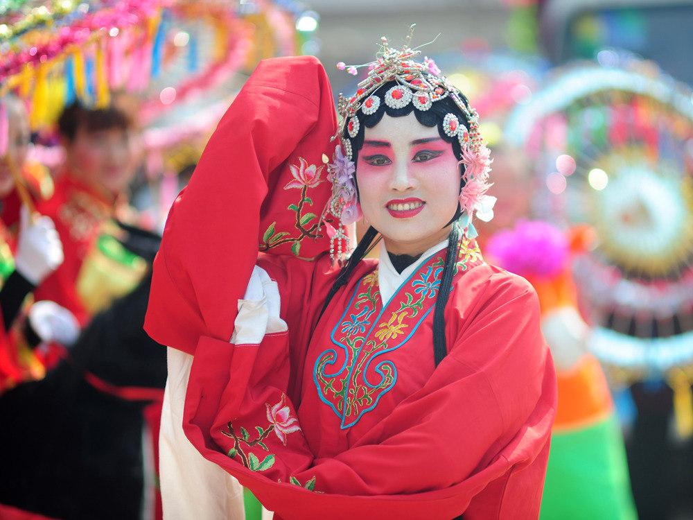 二月二龙抬头 耍社火逛庙会 (三)_图1-5