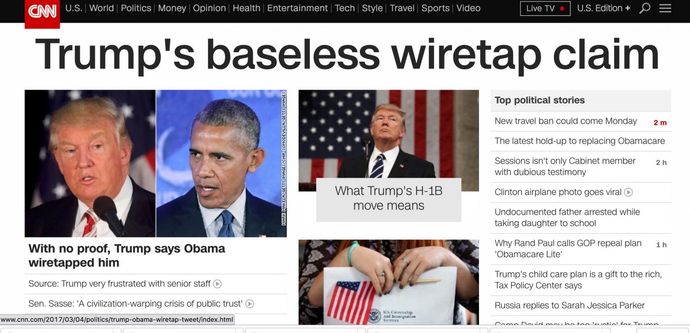 """奥巴马到底有没有在白宫安插""""内鬼""""监视窃听川普?_图1-7"""