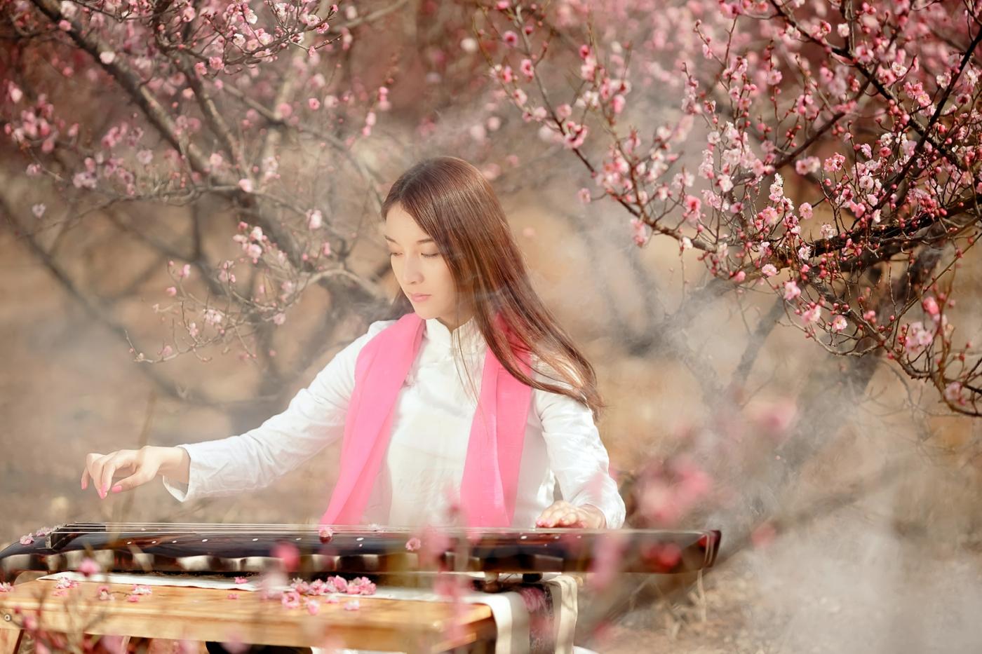 费县的春天从鲜花烂漫的梅林和女孩张诗奇的偶遇开始_图1-8