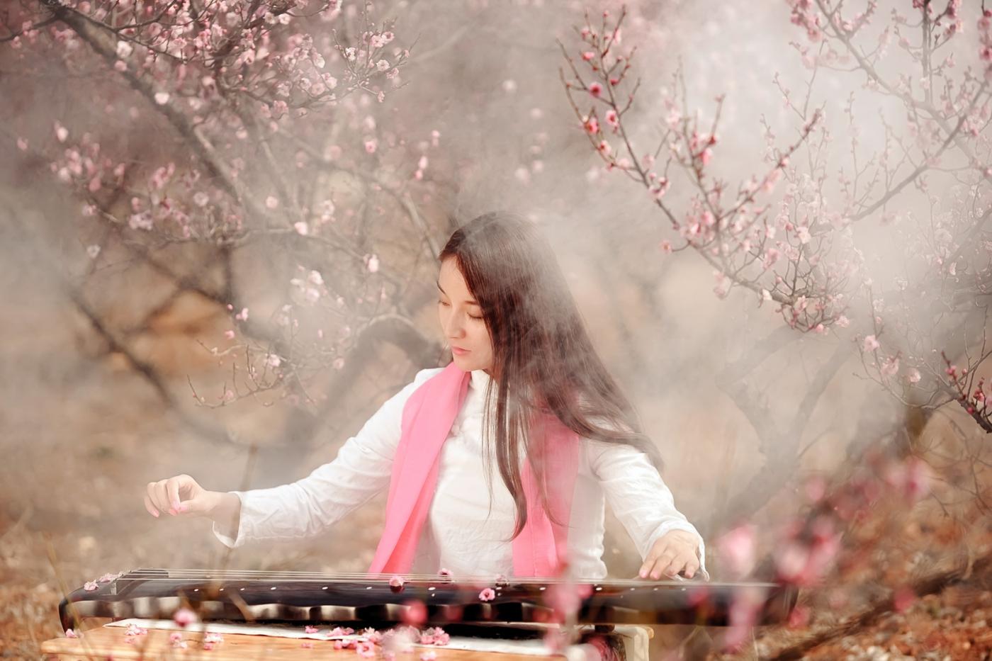 费县的春天从鲜花烂漫的梅林和女孩张诗奇的偶遇开始_图1-10