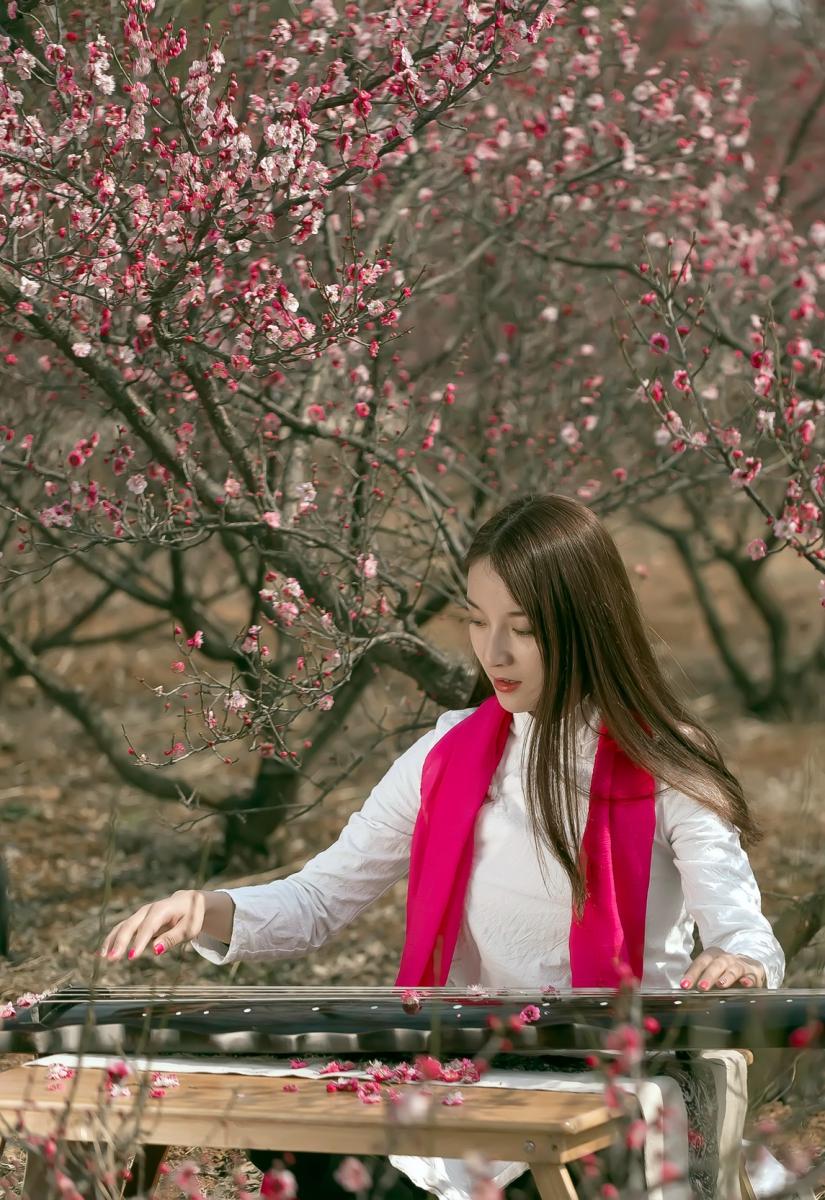 费县的春天从鲜花烂漫的梅林和女孩张诗奇的偶遇开始_图1-13