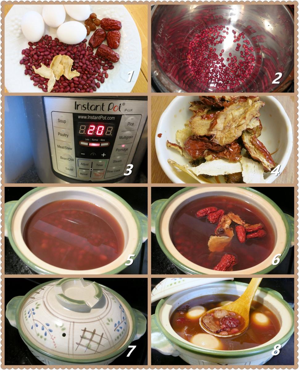 砂锅当归红枣鸡蛋_图1-2