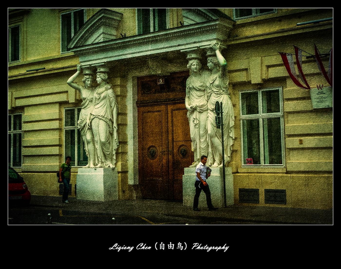维也纳街上的建筑,充满着高大上_图1-8