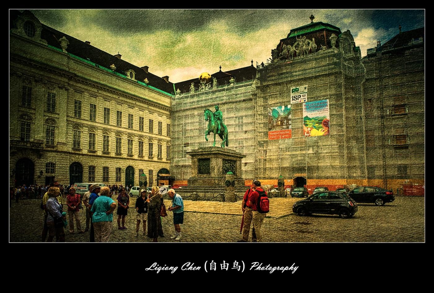 维也纳街上的建筑,充满着高大上_图1-9