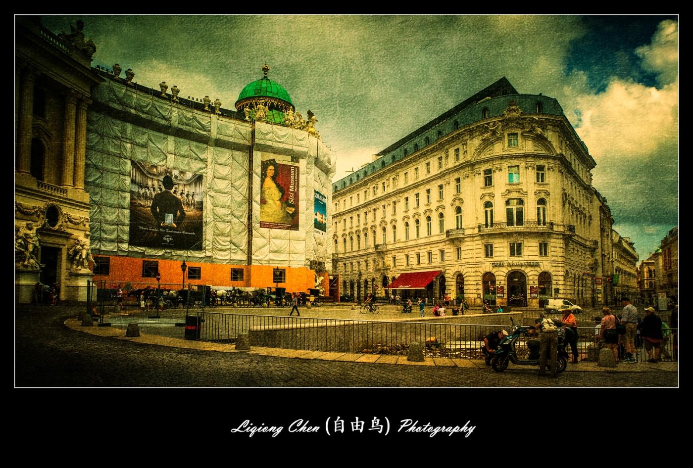 维也纳街上的建筑,充满着高大上_图1-10