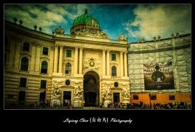 维也纳街上的建筑,充满着高大上