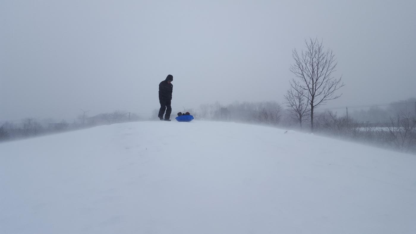 【田螺摄影】暴风雪里我捉到像诗―样的画面_图1-10
