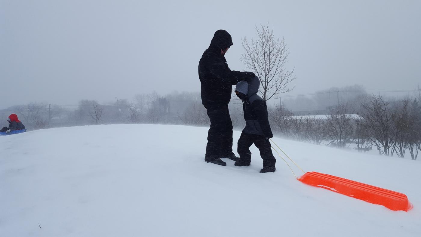 【田螺摄影】暴风雪里我捉到像诗―样的画面_图1-12