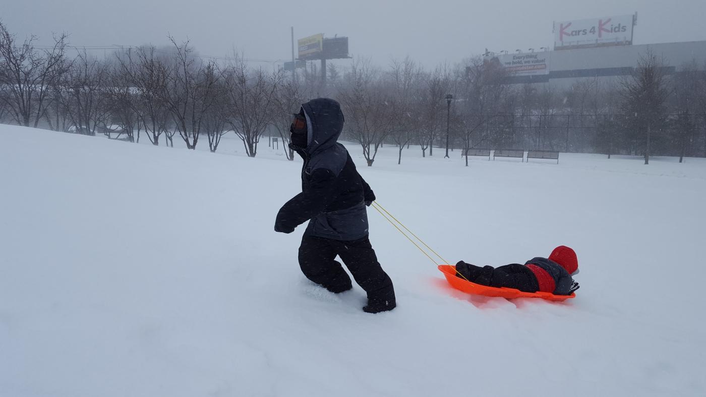 【田螺摄影】暴风雪里我捉到像诗―样的画面_图1-22