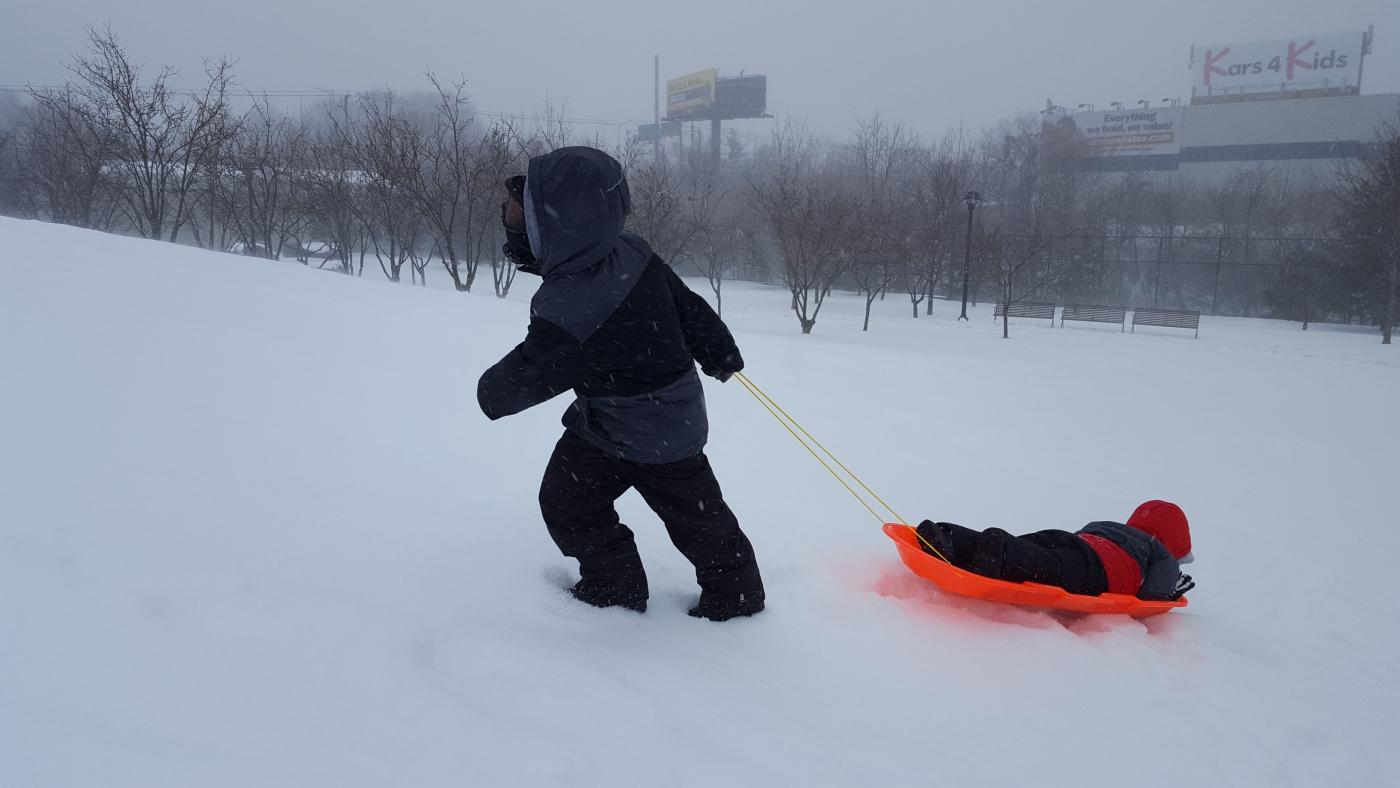 【田螺摄影】暴风雪里我捉到像诗―样的画面_图1-23