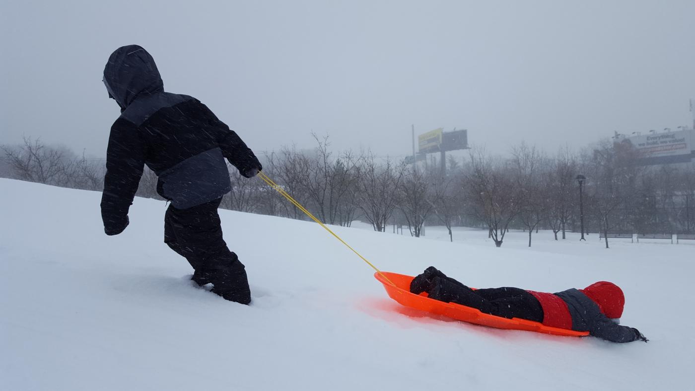 【田螺摄影】暴风雪里我捉到像诗―样的画面_图1-26