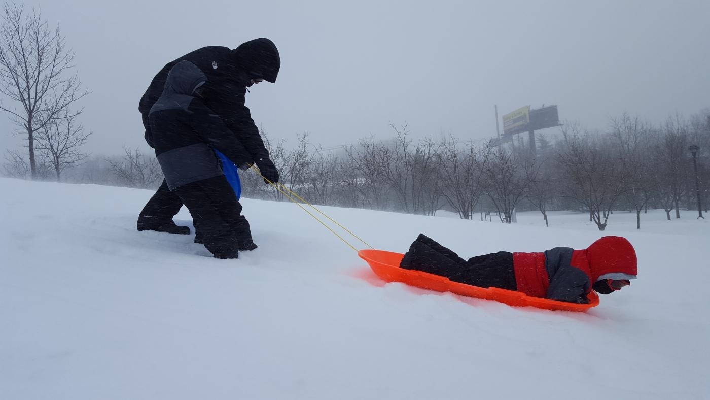 【田螺摄影】暴风雪里我捉到像诗―样的画面_图1-27