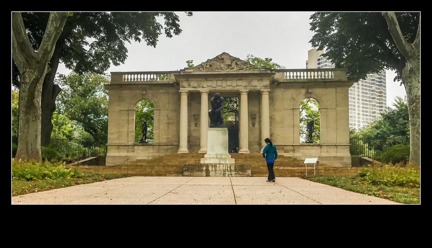 费城罗丹博物馆,值得一看(手机摄影)_图1-10
