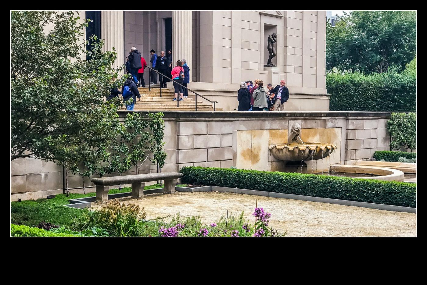 费城罗丹博物馆,值得一看(手机摄影)_图1-6