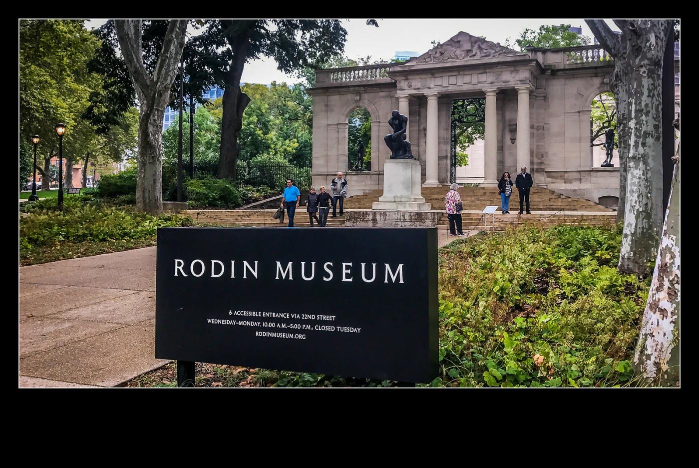 费城罗丹博物馆,值得一看(手机摄影)_图1-3