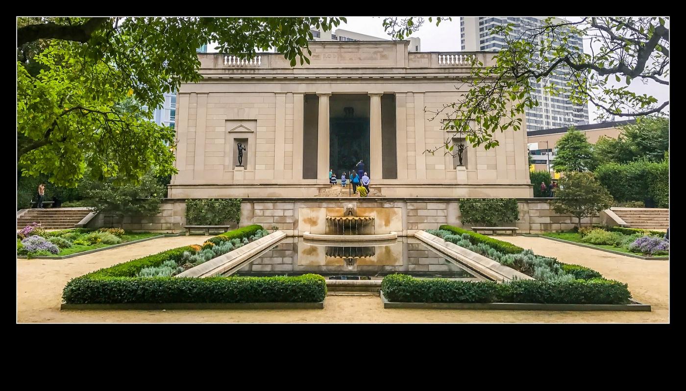 费城罗丹博物馆,值得一看(手机摄影)_图1-1