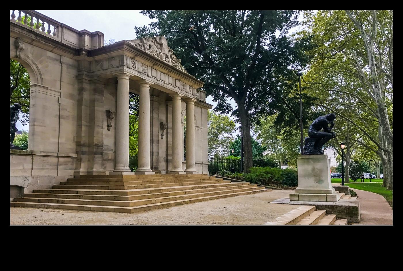 费城罗丹博物馆,值得一看(手机摄影)_图1-2