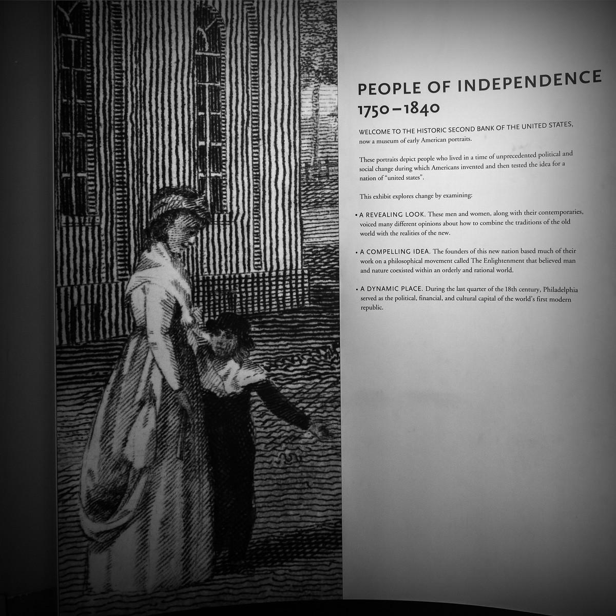 费城独立肖像馆,翻开历史那一页_图1-2