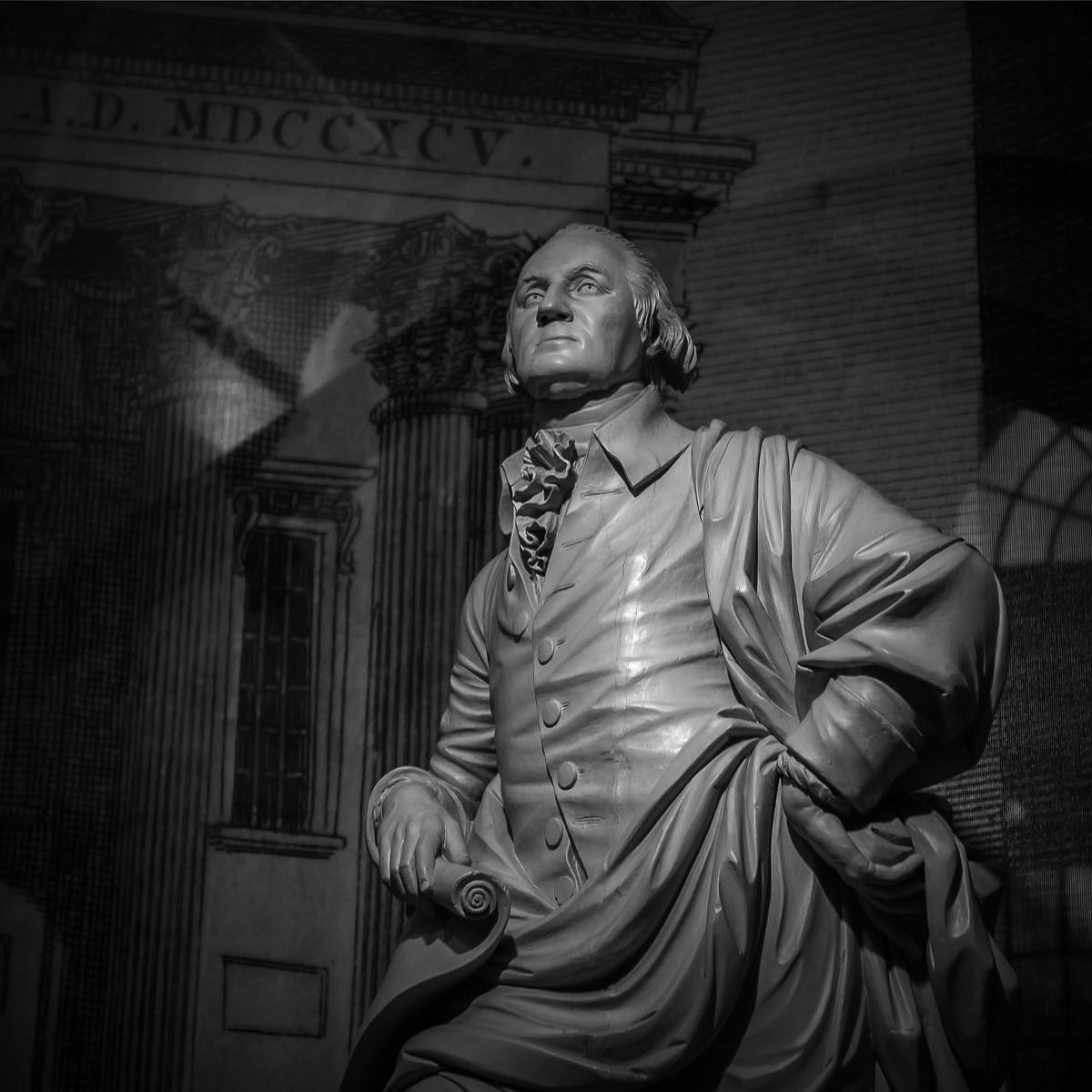 费城独立肖像馆,翻开历史那一页_图1-1