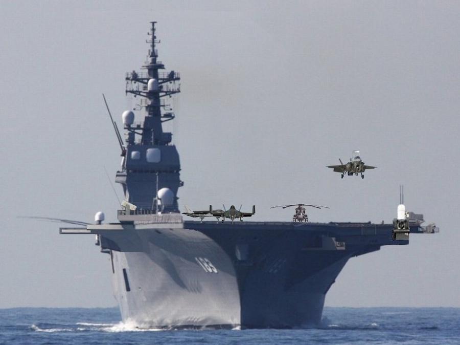 《出云号》将入南海:日本居心何在?_图1-3