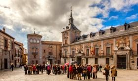 马德里中世纪广场建筑,保存的这么好