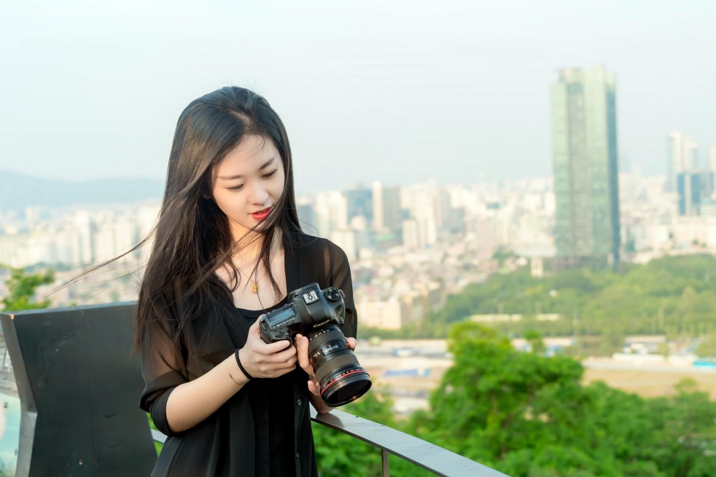 我所见过的最漂亮的女摄影师 姑娘的摄影是舞蹈老师教的吧_图1-10