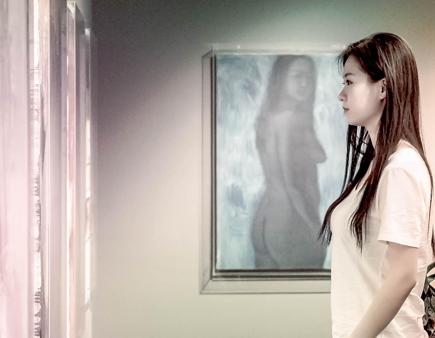 临沂女孩苏韵涵之穿过千山万水只为了你的画展_图1-9