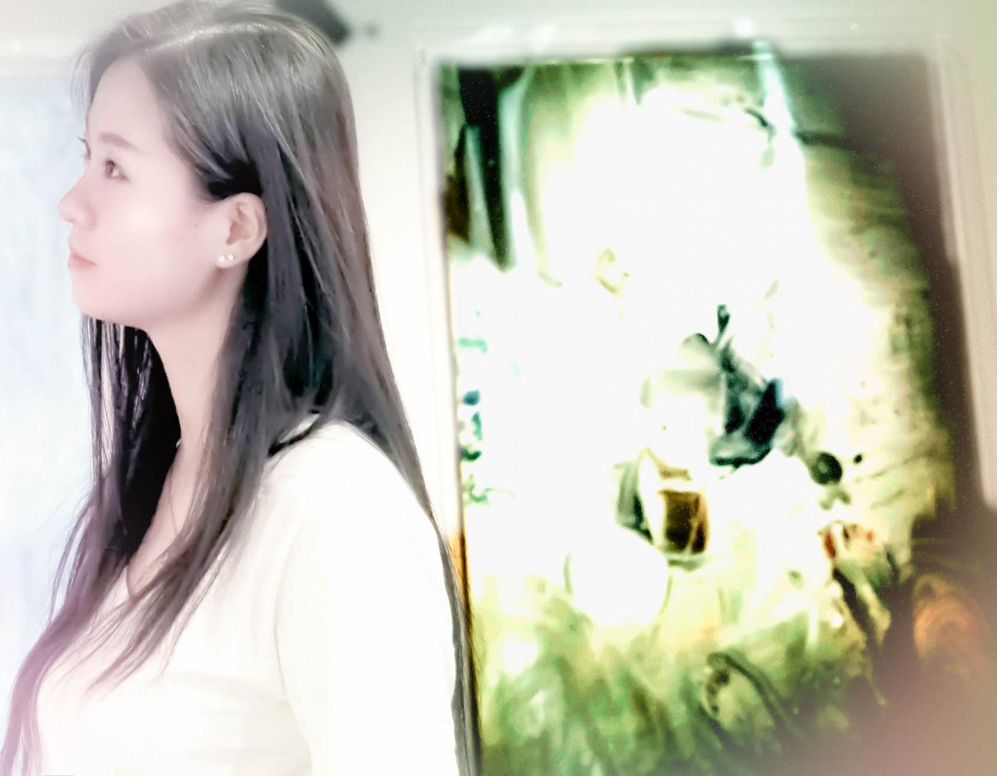 临沂女孩苏韵涵之穿过千山万水只为了你的画展_图1-6
