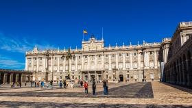 西班牙马德里皇宫,全景欣赏